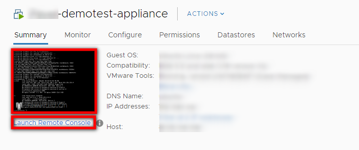 Re-Pairing the vCenter Appliance